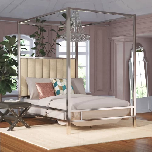 DFCL - Design Trend - Classic Furniture Making a Strong Comeback in Home Decor - canopy bed 3