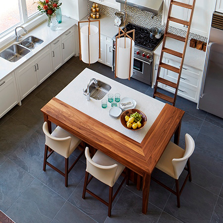 Canadian Designer Shares Tips for Designing a Multi-Purpose Kitchen Island