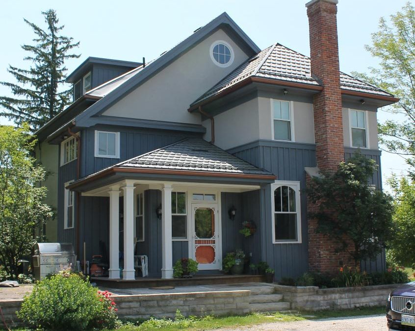 Milton Home Gets Charming Exterior Facelift by GTA Designer