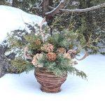 Handmade Seasonal Décor | Celia Resurfaces a Planter with Grapevines