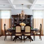 Luxury Designer Celia Alida Rutte adds a Modern Twist to a Traditional Dining Room